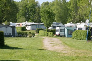 Der Campingplatz.