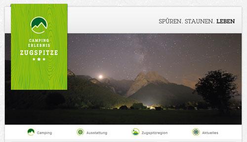 Campingplatz-Neueröffnung am Fuß der Zugspitze