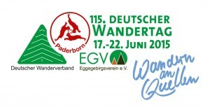 Logo Deutscher Wandertag 2015